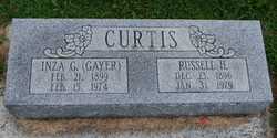 Inza G <I>Gayer</I> Curtis