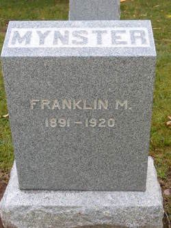 "Franklin Milton ""Frank"" Mynster"