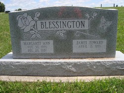 Margaret Ann <I>Reed</I> Blessington