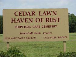 Cedar Lawn Haven of Rest