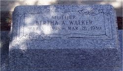 Bertha A Walker