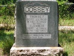 "Elizabeth D. ""Lizzie"" <I>Welch</I> Dossey"