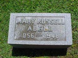 Mary <I>Russell</I> Abell