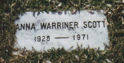 Anna Jean <I>Warriner</I> Scott