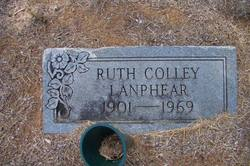 Ruth <I>Colley</I> Lanphear