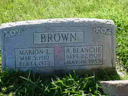 A. Blanche Brown
