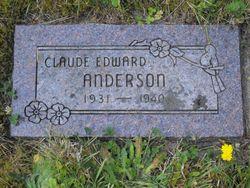 Claude Edward Anderson
