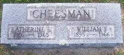 Katherine E. <I>Lewis</I> Cheesman