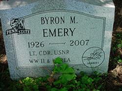 Lieut Byron M. Emery