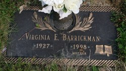Virginia Elizabeth <I>Buchholz</I> Barrickman