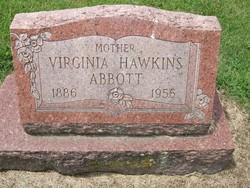 Virginia Mary <I>Hawkins</I> Abbott