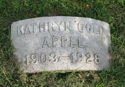 Kathryn <I>Gold</I> Apple