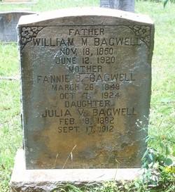 """Frances B """"Fannie"""" <I>Steadings</I> Bagwell"""