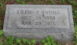 Lillie P. <I>Porter</I> Lyons