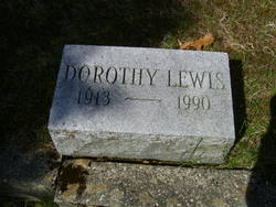 Dorothy <I>Lewis</I> George
