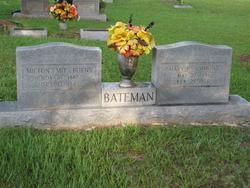 Mary Elizabeth <I>Simmons</I> Bateman