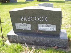 "Alfred Golden ""Goldie"" Babcook"