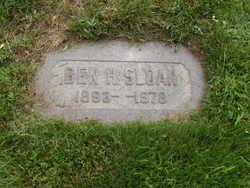 """Benjamin H """"Ben"""" Sloan"""