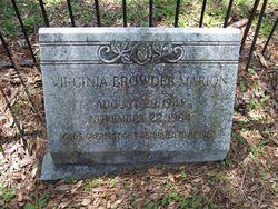 Virginia <I>Browder</I> Marion