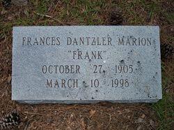 "Frances Dantzler ""Frank"" Marion"