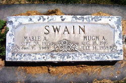 Mable Edna <I>Albrecht</I> Swain