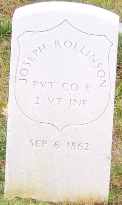 Pvt Joseph Rollinson