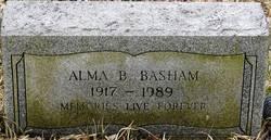 Alma <I>Bowens</I> Basham
