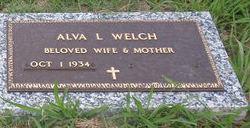 """Alva L. """"Polly"""" <I>Alford</I> Welch"""