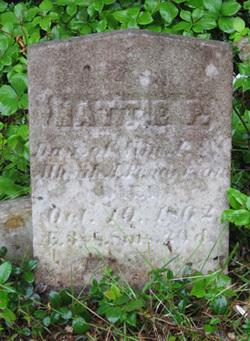 Hattie (Harriet) P Fenderson