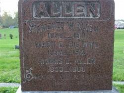 Mary Elizabeth <I>Angell</I> Allen