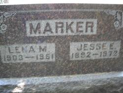 Lena Mae <I>Killen</I> Marker