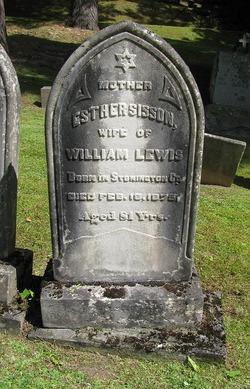 Esther <I>Sisson</I> Lewis