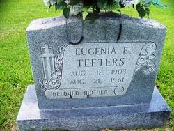 Eugenia Elizabeth <I>Dykes</I> Teeters