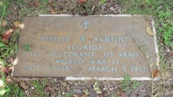 Philip Sydney Irwin Albury Sr.