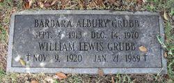 Barbara Mae <I>Albury</I> Grubb