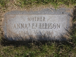 Anna Elizabeth <I>VanBuren</I> Ellison