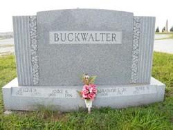 Mary <I>Wright</I> Buckwalter