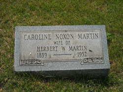 Caroline Hannah <I>Noxon</I> Martin