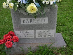 Emma <I>Gilliam</I> Barrett