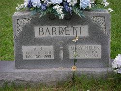 Mary Helen <I>Bullens</I> Barrett