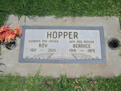 Mrs Bernice <I>Henry</I> Hopper