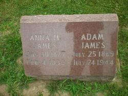 Anna <I>Hudson</I> James