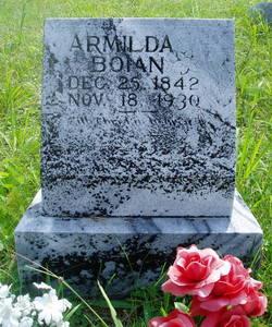 Armilda <I>Wagers</I> Boian