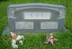 """Adenna """"Denny"""" <I>Edwards</I> Cox"""
