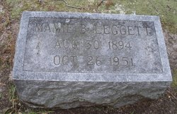 Mamie Alice <I>Bridgers</I> Leggett