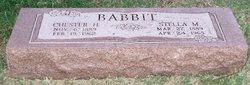 Chester H Babbit