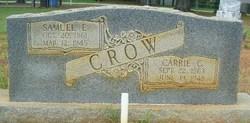 Carrie Caroline <I>Miller</I> Crow