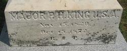 Maj Patrick H. King