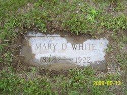 Mary D. <I>Yandow</I> White