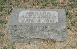 Martha M <I>Henderson</I> Alexander
